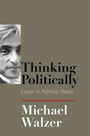 Cover of: Thinking Politically
