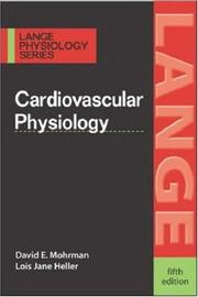 Cover of: Cardiovascular Physiology