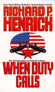 Cover of: When Duty Calls