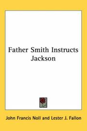 Cover of: Father Smith Instructs Jackson