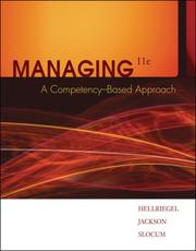 Cover of: Managing