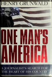 Cover of: One man's America