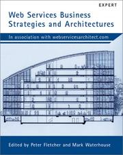 Cover of: Web Services Business Strategies and Architectures