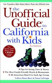 Cover of: The Unofficial Guide to California With Kids (Unofficial Guide to California with Kids)