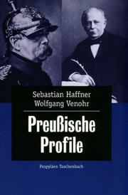 Cover of: Preußische Profile