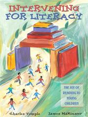Cover of: Intervening for Literacy