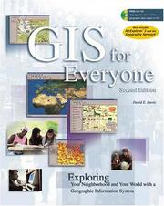 Cover of: GIS for Everyone