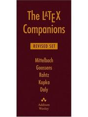 Cover of: The The LaTeX Companions, Revised Boxed Set