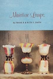 Cover of: Miniature Lamps I