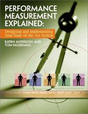 Cover of: Performance Measurement Explained