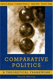 Cover of: Comparative Politics