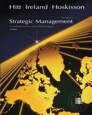 Cover of: Strategic Management Cases
