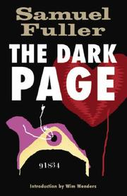 Cover of: The Dark Page