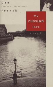 Cover of: My Russian love
