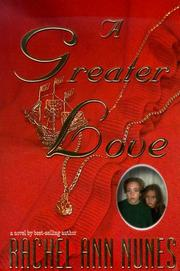 Cover of: A Greater Love