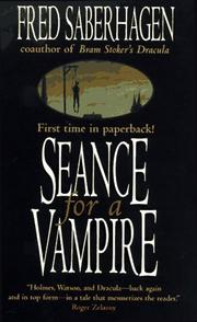 Cover of: Seance for a Vampire