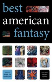 Cover of: Best American Fantasy