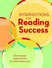 Cover of: Interventions for Reading Success
