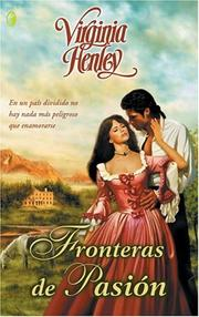 Cover of: Fronteras de pasion