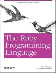 Cover of: The Ruby programming language