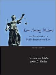 Cover of: Law Among Nations