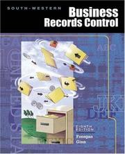 Cover of: Business Records Control, CYRT Update