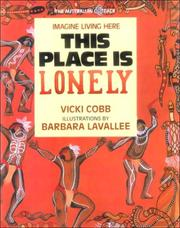 Cover of: This Place Is Lonely (Imagine Living Here)