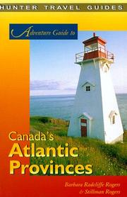 Cover of: Adventure Guide: Canada's Atlantic Provinces (Adventure Guide Series)