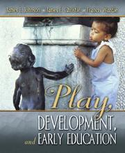 Cover of: Play, Development and Early Education