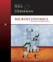 Cover of: Microeconomics