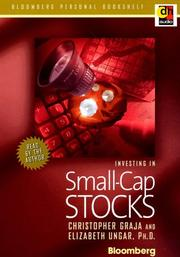 Cover of: Investing in Small-Cap Stocks (Bloomberg Personal Bookshelf (Burlington, Ont.).)