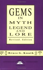 Cover of: Gems in Myth, Legend and Lore Revised Edition