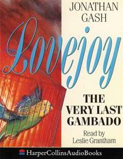 Cover of: The Very Last Gambado (A Lovejoy Mystery)