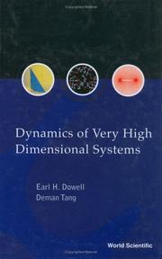 Cover of: Dynamics of Very High Dimensional Systems