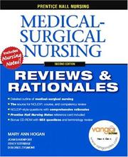 Cover of: Prentice Hall Nursing Reviews & Rationales
