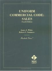 Cover of: Uniform Commercial Code