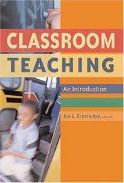 Cover of: Classroom Teaching