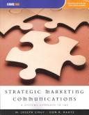 Cover of: Strategic Marketing Communications