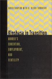 Cover of: Kinshasa in transition