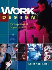 Cover of: Work Design