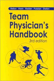 Cover of: The Team Physician's Handbook