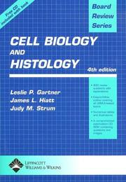 Cover of: Board Review Series Cell Biology and Histology (Book with CD-ROM)