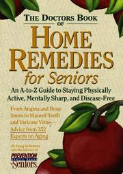 Cover of: Doctor's Book of Home Remedies for Seniors