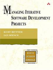 Cover of: Managing Iterative Software Development Projects (The Addison-Wesley Object Technology Series)