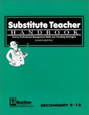 Cover of: Substitute Teacher Handbook 9-12, Fourth Edition