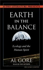 Cover of: Earth in the Balance Ecology and the Human Spirit (Audio)