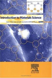 Cover of: Introduction To Materials Science