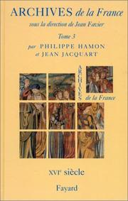 Cover of: Archives de la France