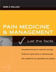 Cover of: Pain Medicine and Management