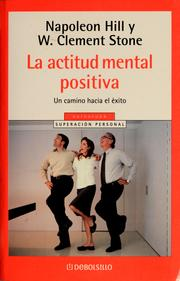 Cover of: La Actitud Mental Positiva